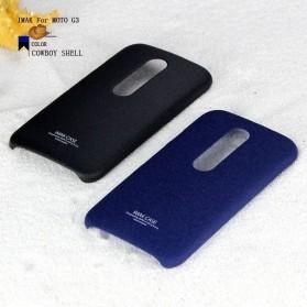 Imak Cowboy Quicksand Ultra Thin Hardcase for Moto G3 - Black - 4