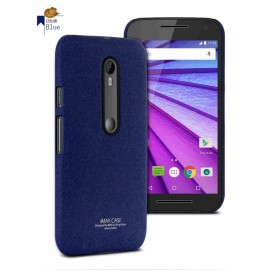 Imak Cowboy Quicksand Ultra Thin Hardcase for Moto G3 - Blue