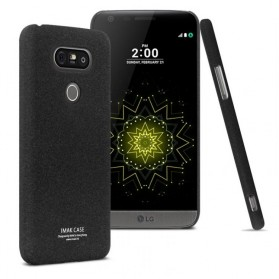 Imak Cowboy Quicksand Ultra Thin Hard Case for LG G5 H830 - Black