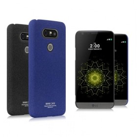 Imak Cowboy Quicksand Ultra Thin Hard Case for LG G5 H830 - Blue - 3