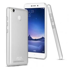Imak Jazz Series Ultra Thin Full Cover Case for Xiaomi Redmi 3 Pro - Silver