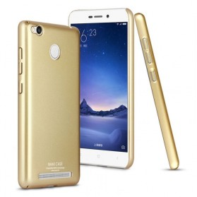 Imak Jazz Series Ultra Thin Full Cover Case for Xiaomi Redmi 3 Pro - Golden
