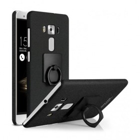 Imak Contracted iRing Hard Case for Asus Zenfone 3 5.2 Inch ZE520KL - Black
