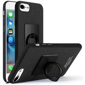 Imak Contracted iRing Hard Case for iPhone 7/8 - Black