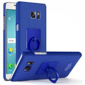 Imak Contracted iRing Hard Case for Samsung Galaxy Note 7 - Blue