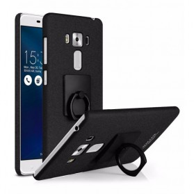 Imak Contracted iRing Hard Case for Asus Zenfone 3 Laser ZC551KL - Black