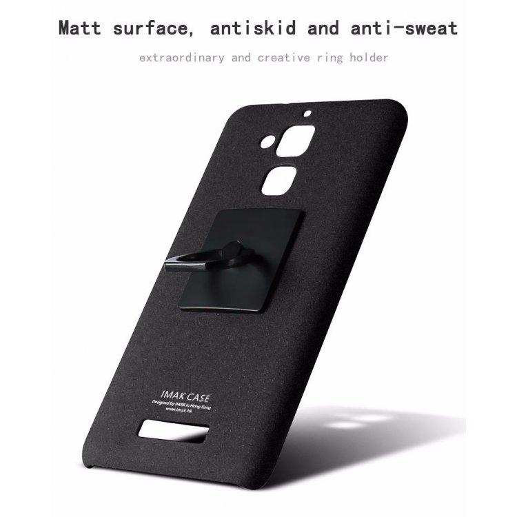 Imak Contracted iRing Hard Case for Asus Zenfone 3 Max ZC520TL - Black - 4 ...