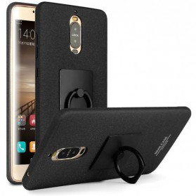 Imak Contracted iRing Hard Case for Huawei Mate 9 Pro 5.5 Inch - Black