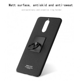 Imak Contracted iRing Hard Case for Huawei Mate 9 Pro 5.5 Inch - Black - 3