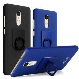 Imak Contracted iRing Hard Case for Xiaomi Redmi Note 4X - Black - 2