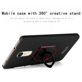 Imak Contracted iRing Hard Case for Xiaomi Redmi Note 4X - Black - 5