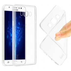 Imak Ultra Thin TPU Case for Samsung Galaxy J5 2016 J5108 - Transparent - 4