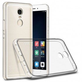Imak Ultra Thin TPU Case for Xiaomi Redmi Note 4 Mediatek - Transparent - 1