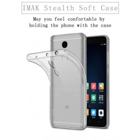 Imak Ultra Thin TPU Case for Xiaomi Redmi Note 4 Mediatek - Transparent - 4