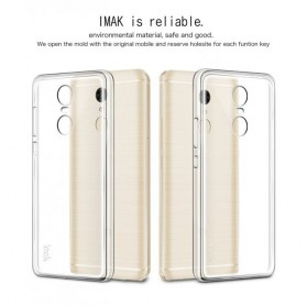 Imak Ultra Thin TPU Case for Xiaomi Redmi Note 4 Mediatek - Transparent - 5