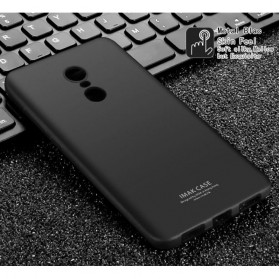 Imak Full Cover Silicone Case for Xiaomi Redmi Note 4X - Black - 2