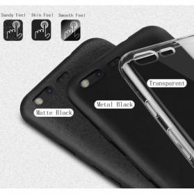 Imak Full Cover Silicone Case for Xiaomi Redmi Note 4X - Black - 3