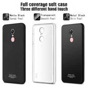 Imak Full Cover Silicone Case for Xiaomi Redmi Note 4X - Black - 4