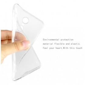 Imak Full Cover Silicone Case for Xiaomi Redmi Note 4X - Black - 5