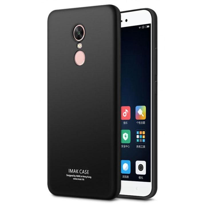 pretty nice f712f 3812f Imak Full Cover Silicone Case for Xiaomi Redmi Note 4X - Black