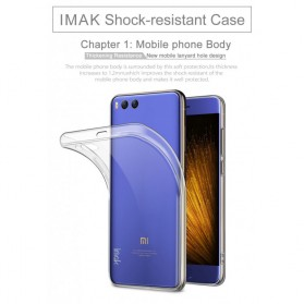 Imak Ultra Thin TPU Case for Xiaomi Mi6 - Transparent - 2