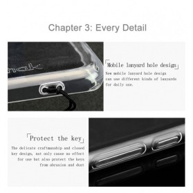 Imak Ultra Thin TPU Case for Xiaomi Mi6 - Transparent - 3