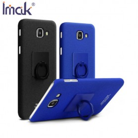 Imak Contracted iRing Hard Case for Samsung Galaxy J7 Max G615F - Black - 9