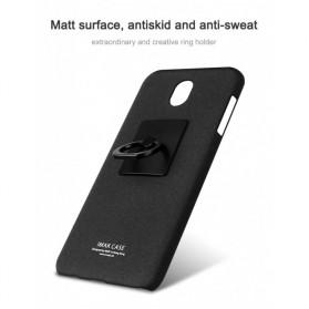 Imak Contracted iRing Hard Case for Samsung Galaxy J7 2017 J730F - Black - 3