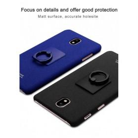 Imak Contracted iRing Hard Case for Samsung Galaxy J7 2017 J730F - Black - 6