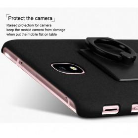 Imak Contracted iRing Hard Case for Samsung Galaxy J7 2017 J730F - Black - 7