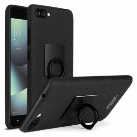 Imak Contracted iRing Hard Case for Asus ZenFone 4 Max ZC554KL - Black