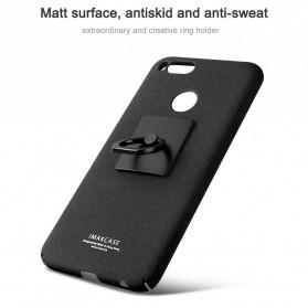Imak Contracted iRing Hard Case for Xiaomi Mi A1/5x - Black - 2