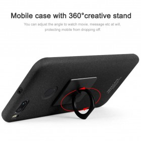 Imak Contracted iRing Hard Case for Xiaomi Mi A1/5x - Black - 4