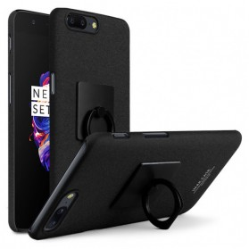 Imak Contracted iRing Hard Case for OnePlus 5 - Black