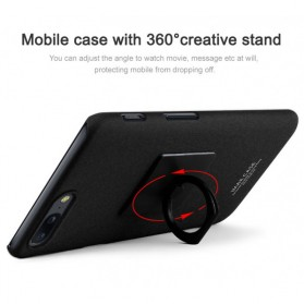 Imak Contracted iRing Hard Case for OnePlus 5 - Black - 5