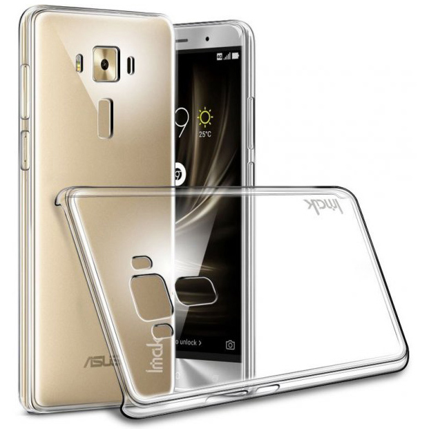 Imak Crystal 2 Ultra Thin Hard Case for Asus Zenfone 3 Zoom ZE553KL .