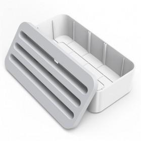 Orico Kotak Manajemen Kabel Charger - PB1028 - White - 2