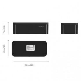 Orico Kotak Manajemen Kabel Charger - PB1028 - White - 6