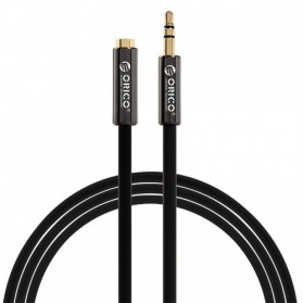 Orico Kabel HiFi AUX Audio 3.5mm Male to Female 1M - FMC-10 - Black