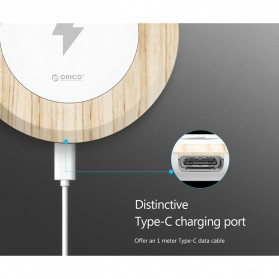 Orico Intelligent Qi Wireless Charging Dock - W0C1-WD - White - 6