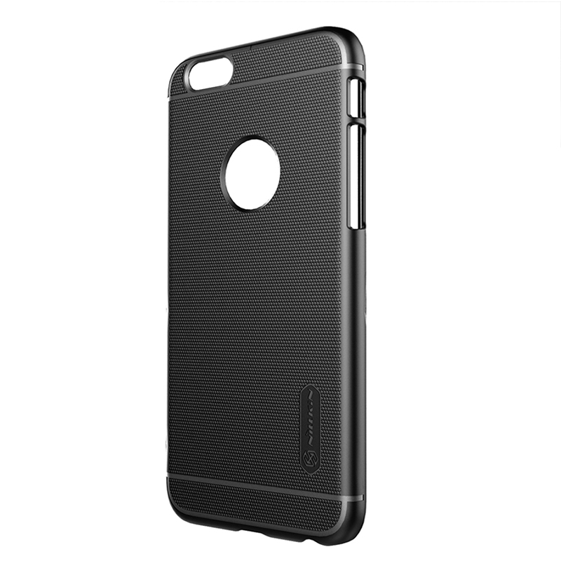 ... Nillkin Super Frosted Shield Hard Case for Apple iPhone 6 - Black - 3  ... 89aa5df5e4