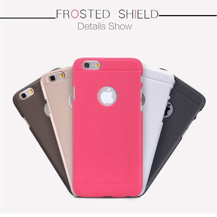 Nillkin Frosted Shield untuk Apple iPhone 6 menggunakan bahan material PC  yang dirancang khusus untuk melindungi smartphone dari goresan 4d372f4a8b