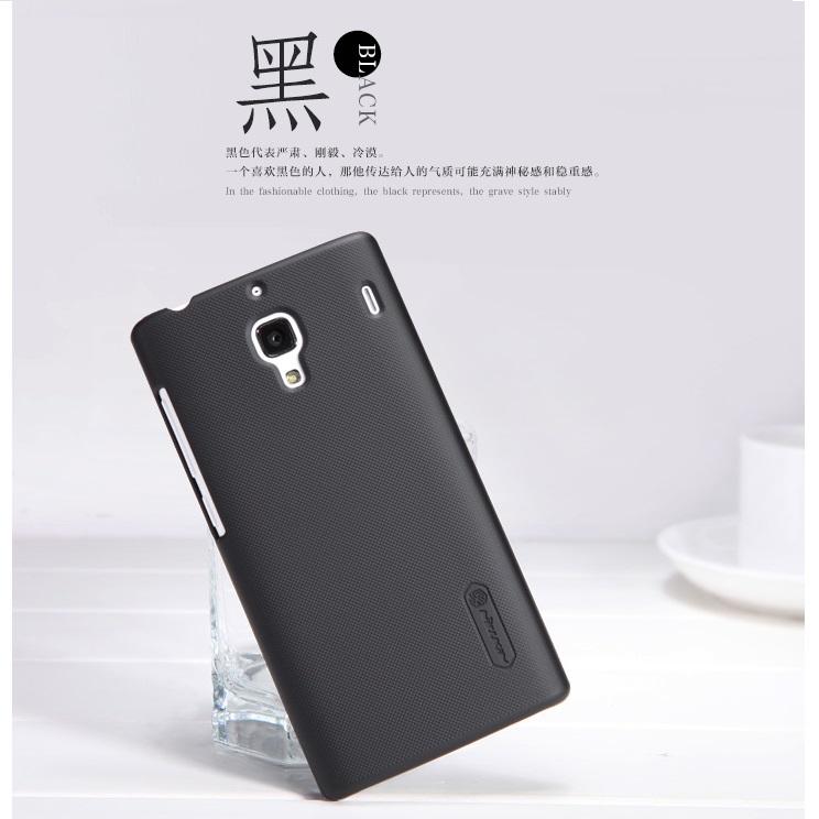 competitive price 3baa5 80971 Nillkin Super Frosted Shield Hard Case for Xiaomi Redmi 1s - Black