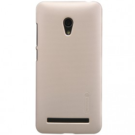 Nillkin Super Frosted Shield Hard Case for Asus Zenfone 5 Lite A502CG - Golden - 1