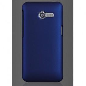 Snap On Rubberized Matte Hard Case for Zenfone 4 - Deep Blue