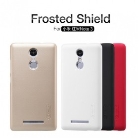 Nillkin Super Frosted Shield Hard Case for Xiaomi Redmi Note 3 / Note 3 Pro (KENZO) - Golden - 2