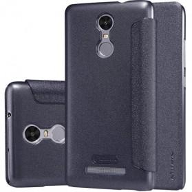 Nillkin Sparkle Window Case for Xiaomi Redmi Note 3 / Note 3 Pro (KENZO) - Black - 2
