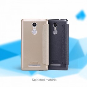 Nillkin Sparkle Window Case for Xiaomi Redmi Note 3 / Note 3 Pro (KENZO) - Black - 6