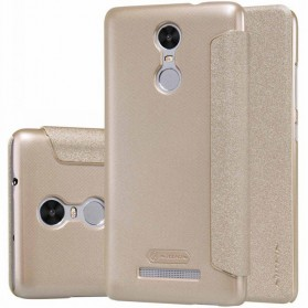 Nillkin Sparkle Window Case for Xiaomi Redmi Note 3 / Note 3 Pro (KENZO) - Golden