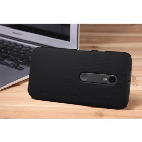 Nillkin Super Frosted Shield Hard Case for Moto G3 XT1550 - Black - 2